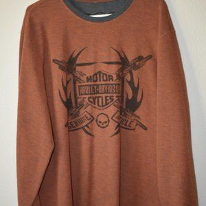 Genuine Article Harley-Davidson Long Sweater XL